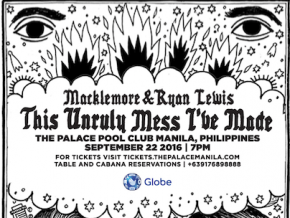 Macklemore and Ryan Lewis Live in Manila for This Unruly Mess I've Made Tour