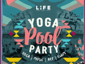 Yoga Pool Party at the Palace Pool Club