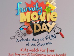 Time for Family Bonding: SM Cinema offers Family Movie Day