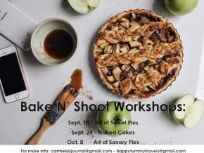 Bake N Shoot Workshops