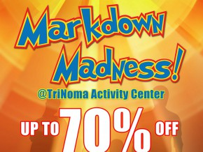 Get as much as 70% Discount at Markdown Madness