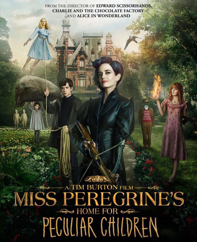 Resultado de imagen de miss peregrine's home for peculiar children