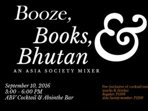 Booze, Books, and Bhutan: An Asia Society Mixer