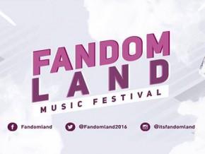 Fandomland Music Festival 2016
