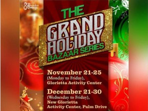 The Grand Holiday Bazaar Series: Your one-stop for all your Christmas shopping needs