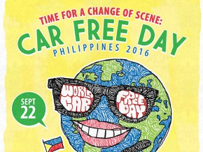 Time for a Change of Scene: Car Free Day Philippines 2016