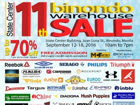 11th Binondo Warehouse Sale