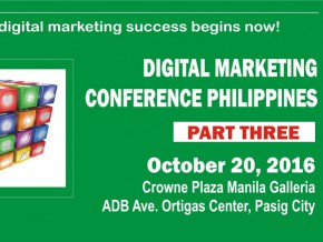 Digital Marketing Conference Philippines Part 3