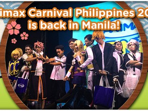 Back by popular demand: Animax Carnival Philippines 2016