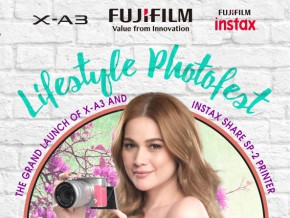 See the Fujifilm X-A3 at the Fujifilm Lifestyle Photofest!