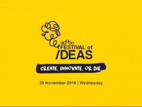 Create, innovate or die: adobo Festival of Ideas 2016