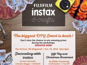 FUJIFILM Instax & Crafts 2016