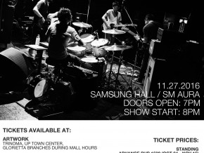 Japanese math rock band 'toe' Live in Manila 2016