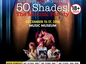 '50 Shades! The Musical Parody' in Manila this December