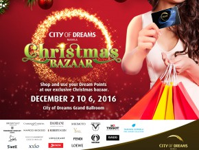 City of Dreams Manila Christmas Bazaar