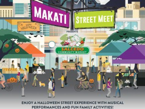 Makati Closes off Paseo De Roxas for Foodie Street Meet on October 23