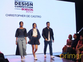 Manila Fashion Festival: Bobson Design Competition x Paris Miki