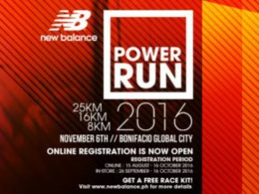 New Balance Power Run 2016 8/16/25K