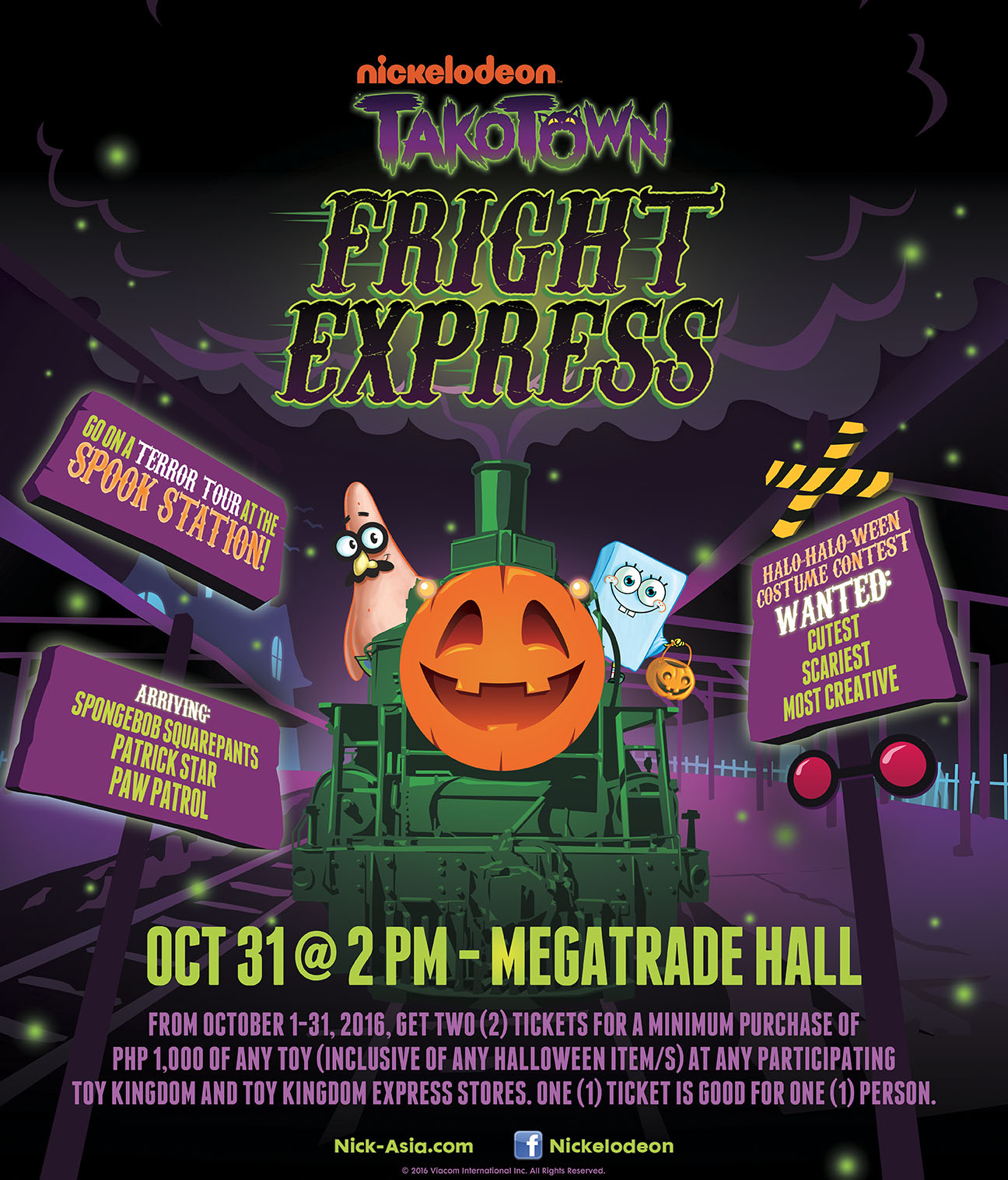 list of halloween events for kids in manila philippine primer