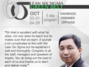 Green Belt Lean Six Sigma 2016