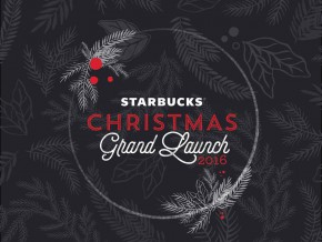 Starbucks Christmas Grand Launch on Oct 29 – 30