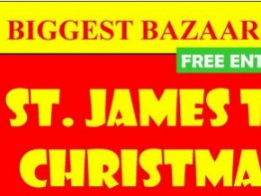 Largest bazaar in the south: St. James The Great Christmas Bazaar