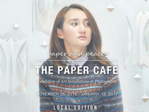 The Paper Café: Exhibition of Art Installations and Photographs