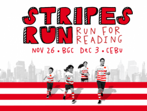 Mcdonald's Stripes Run in BGC and Taguig