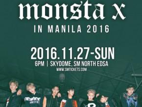 Monsta X First Fan Meeting in Manila 2016