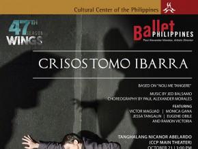 Ballet Philippines presents 'Crisostomo Ibarra'