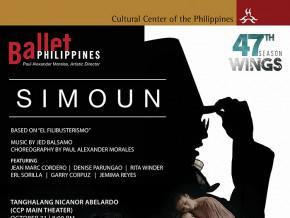 "Ballet Philippines presents ""Simoun"""