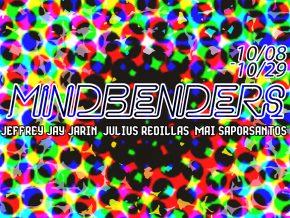 """Mind Benders"" – Jeffrey Jay Jarin, Julius Redillas, Mai Saporsantos"