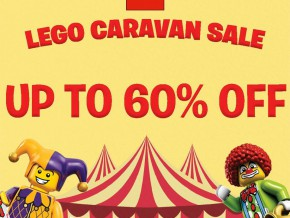 LEGO Shop Caravan on November 16-20