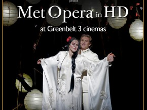 Ayala Malls Cinemas Presents New York's Met Opera Productions at Greenbelt 3 from December 2016 – May 2017