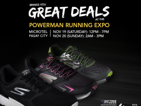 Get P800 discount on Skechers Performance at Powerman Running Expo