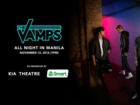 The Vamps to perform an intimate acoustic show for Filipino Vamily