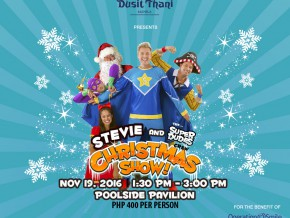 Stevie and The Superdudes Crew Christmas Show