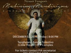 Dr. Nicanor Tiongson's 'Mabining Mandirigma'