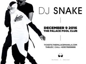 DJ Snake LIVE at the Palace Pool Club