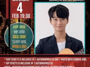 Sungha Jung LIVE in Manila in February 2017