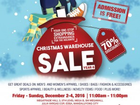 The 6th Christmas Warehouse Sale