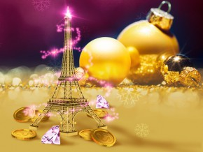 Parisian Holiday Party