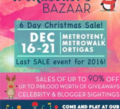 Trendsetter's 6-Day Christmas Bazaar and Perya