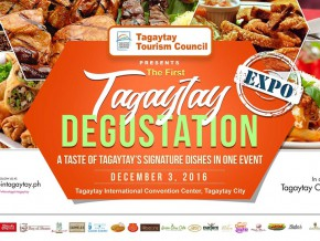 Tagaytay Degustation: Taste all of Tagaytay Signature Dishes