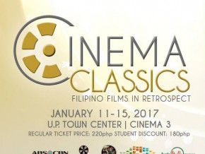 'Cinema Classics' at UP Town Center