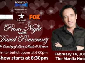 Valentine Concert at the Manila Hotel: Prom Night with David Pomeranz