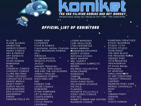 Komiket: The 3rd Filipino Komiks and Art Market