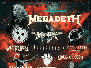 Megadeth at SEA's Biggest and Longest-running Metal Festival: PULP Summer Slam 17