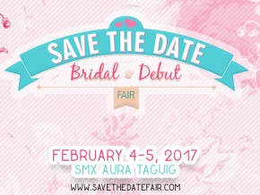 Save the Date: Bridal and Debut Fair 2017