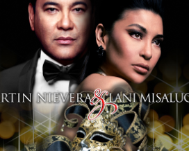 Masquerade with Martin Nievera and Lani Misalucha